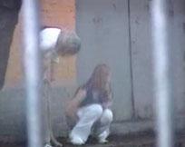 Spanner filmt heimlich pissende Frauen